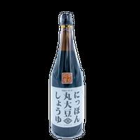 【無添加調味料】にっぽん丸大豆しょうゆ 720ml  ニシキ醤油㈱