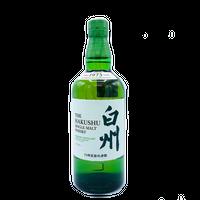 【ウイスキー】サントリー シングルモルト白州 700ml(箱付)