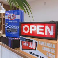 サインランプ オープン SIGN LANP OPEN