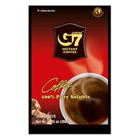G7 Pure Black instant coffee(Bag 100 sachets)