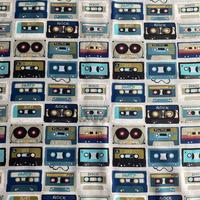 カセットテープ柄 TANPAN