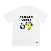 短パンカレーTシャツ( 短パンちゃんイラスト by しみを画伯 )