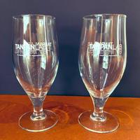 TANPAN LAB(クラフト用)オリジナルグラス2個 × レザーコースター2個セット