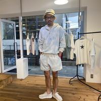 【KURO】HONEYCOMB SHORTS / Blue Mix