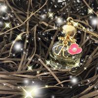 【完売】《恋愛運アップ》ソウルメイトの愛を引き寄せる、シンデレラオイル ペンダント