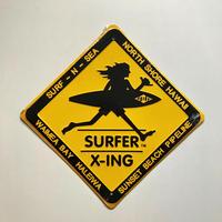 ハワイ限定SURF N SEA / METAL SIGN / 標識型看板/プレート