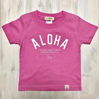 ISLANDER/アイランダー 『 ALOHA 』 キッズTシャツ/ピンク