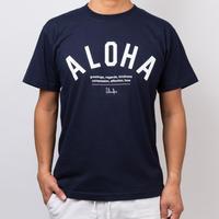 ISLANDER/アイランダー 『 ALOHA 』 Tシャツ/ネイビー