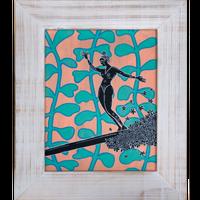 【Eduardo Bolioli エドゥアルド・ボリオリ】オリジナルアート 『Victoria V.』19×16 原画