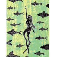【Eduardo Bolioli エドゥアルド・ボリオリ】マットプリントアート 『Resurface』11×14(直筆サイン入り)
