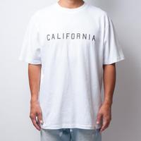 ISLANDER/アイランダー CALIFORNIA/カリフォルニア ビッグシルエット ロゴTシャツ/オフホワイト
