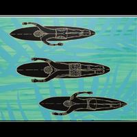 【Eduardo Bolioli エドゥアルド・ボリオリ】マットプリントアート 『Ohana』11×14(直筆サイン入り)