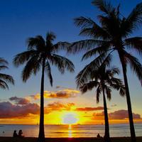 ISLANDER/アイランダーPhotography写真 『Sunset Glow 』A4サイズ