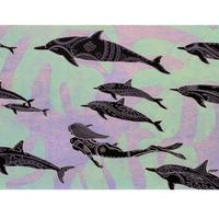 【Eduardo Bolioli エドゥアルド・ボリオリ】マットプリントアート 『Na'ia』11×14(直筆サイン入り)