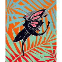 【Eduardo Bolioli エドゥアルド・ボリオリ】マットプリントアート 『Little Wing』11×14(直筆サイン入り)