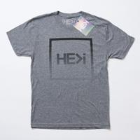 HE>i(ヒー)Tシャツ GRADUAL TEE(プレミアムヘザーグレー)S