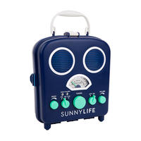 SUNNYLIFE(サニーライフ)BEACH SOUNDS/ビーチステレオスピーカー/Blue Depths