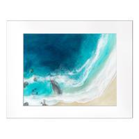 【Sarah Caudle / サラカードル】Waimea Bay《Matted Prints》Sサイズ