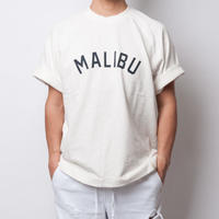ISLANDER/アイランダー MALIBU SWEAT BIG TEE/マリブスウェットビッグシルエットTシャツ(ホワイト)