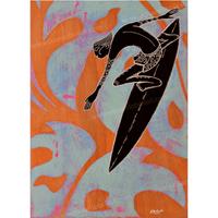【Eduardo Bolioli エドゥアルド・ボリオリ】マットプリントアート 『Going right』11×14(直筆サイン入り)