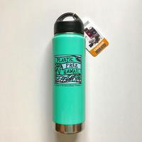 Heather Brown (ヘザーブラウン)× Plastic Free Hawaii Klean Kanteen 20oz(592ml) Insulated Turquoise Bottle