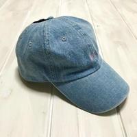ISLANDER(アイランダー)ベースボールキャップ/デニム(light blue)