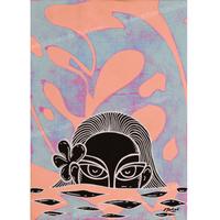 【Eduardo Bolioli エドゥアルド・ボリオリ】マットプリントアート 『Malia M』11×14(直筆サイン入り)