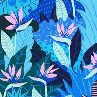 【Kim Sielbeck キム・シルベック】デジタルプリントアート Blue Hawaii II 11×14