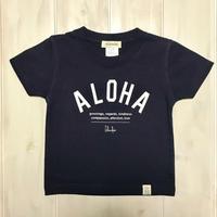ISLANDER/アイランダー 『 ALOHA 』 キッズTシャツ/ネイビー