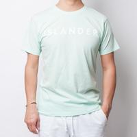 ISLANDER/アイランダー サマーロゴTシャツ(シャーベットグリーン)