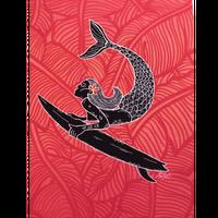 【Eduardo Bolioli エドゥアルド・ボリオリ】マットプリントアート 『Sirenita』11×14(直筆サイン入り)