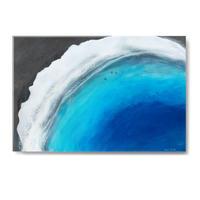【Sarah Caudle / サラカードル】Punalu'u Beach 《Open Edition Resin Prints》12×16in