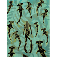 【Eduardo Bolioli エドゥアルド・ボリオリ】マットプリントアート 『Hammer time』11×14(直筆サイン入り)