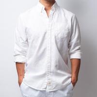 ISLANDER/アイランダー ボタンダウンシャツ/ホワイト