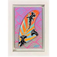 【Eduardo Bolioli エドゥアルド・ボリオリ】オリジナルフィンアート 『 Shark Fin』原画