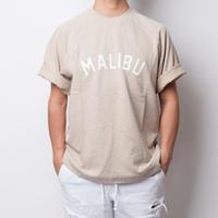 ISLANDER/アイランダー MALIBU SWEAT BIG TEE/マリブスウェットビッグシルエットTシャツ(ライトカーキ)