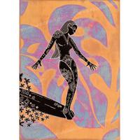 【Eduardo Bolioli エドゥアルド・ボリオリ】マットプリントアート 『Ninn's』11×14(直筆サイン入り)