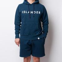 ISLANDER/アイランダー デニムスウェットインディゴショーツ