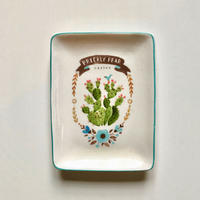 SoHa LIVING/Plate with Cactus/サボテンプレート小皿