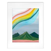 【Sarah Caudle / サラカードル】Ānuenue《Matted Prints》Lサイズ