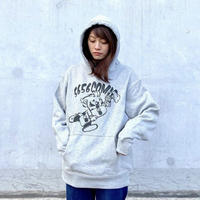 5656WORKINGS/5656COMIC BOY_HOODIE_GRAY