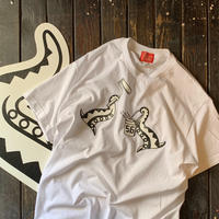 5656WORKINGS/DEVIL FISH Tee_WHITE