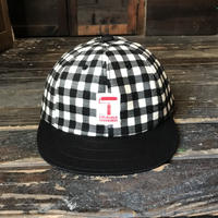 5656WORKINGS/B&W CHECK CAP