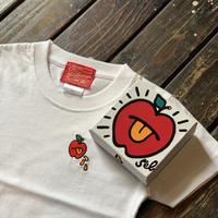 【KIDS】5el6WORKINGS/APPLE KIDS Tee_WHITE