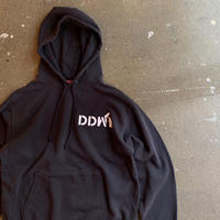 5656WORKINGS/DDW TEAM HOODIE_BLACK