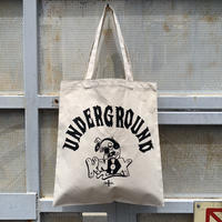5656WORKINGS/UNDERGROUND KNOX TOTE BAG_NATURAL