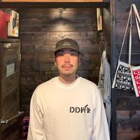 5656WORKINGS/DDW L/S UNIFORM_WHITE