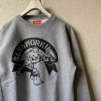 5656WORKINGS/5656BOY 20th ANNIVer. SWEAT_GRAY