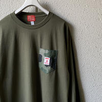 5656WORKINGS/NO.56 L/S UNIFORM_ARMY GREEN