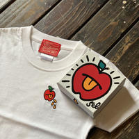 5eL6WORKINGS/APPLE BELLO KIDS Tee_WHITE